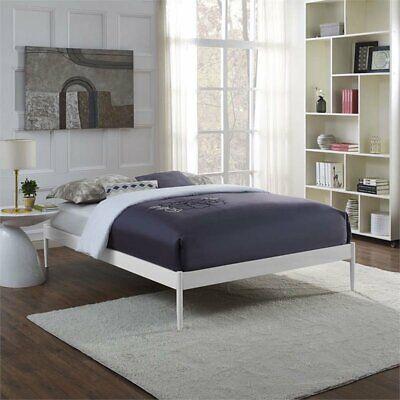 Modway Elsie Queen Bed Frame in White