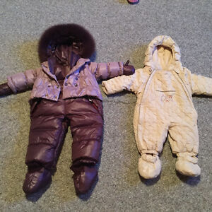 Baby snowsuits