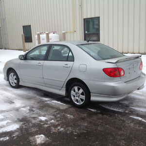 CHECK OUT THIS MINT TOYOTA COROLLA S MODEL, 5 SPEED