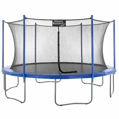 Durable, Sturdy 16' Trampoline w/ Enclosure & Protective Net