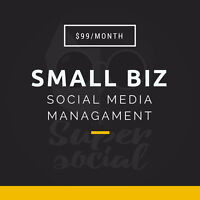 THE BEST SOCIAL MEDIA MANAGEMENT FOR JUST $99/MONTH