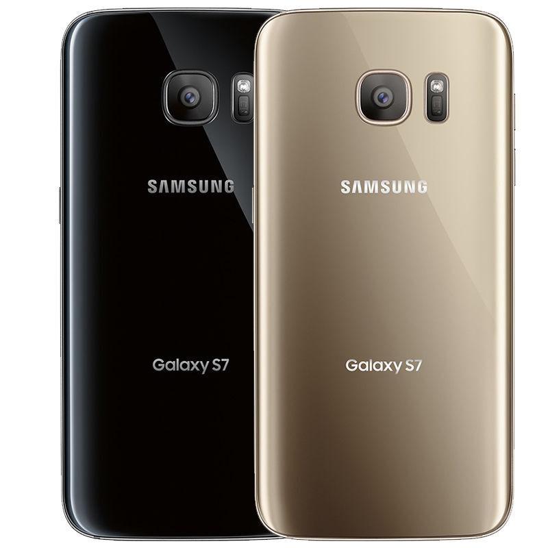 Samsung Galaxy S7 32GB (Verizon / Straight Talk / Unlocked ATT GSM) Black Gold