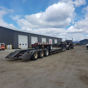 Heavy haul double drop low bed