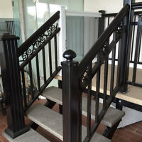 Aluminum Railing for your porch, balcony, walkways, and stairs!