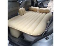 Infaltebale Back Seat Matteress and car curtain