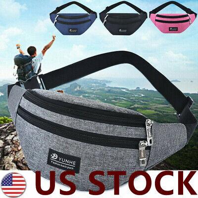 Women Fanny Pack Waist Hip Belt Bag Travel Hip Bag Small Purse Chest Pouch F/1