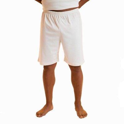 100% Dye Free Cotton Mens Pajamas Organic Short Sleepwear Best for Allergies