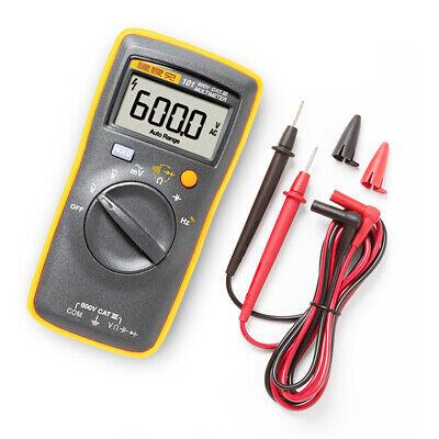 Fluke 101 Digital Multimeter Pocket Portable Meter Equipment Industrial Us Stock