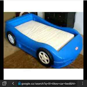 Full size...Little Tykes Twin Car Bed (not toddler size bed)