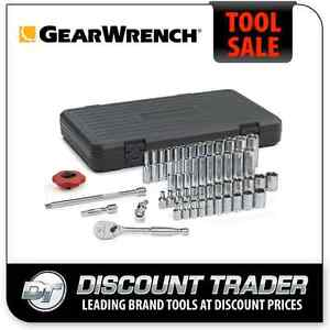 GearWrench 51 Piece 1/4 Inch Drive 6 Point Socket Set - 80300