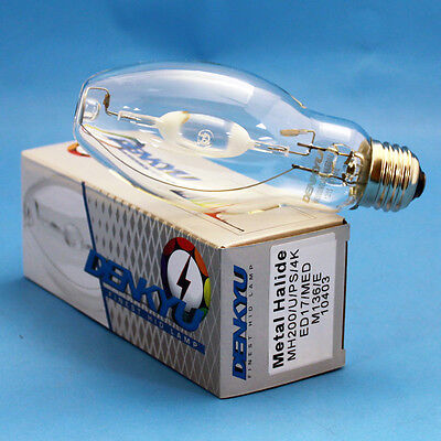 MH200/U/PS/4K/ED17 DENKYU 10403 200W Metal Halide Pulse Start Lamp M136/E Bulb (200w Pulse Start Metal)