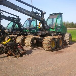 Three (3) Timberjacks 1070D