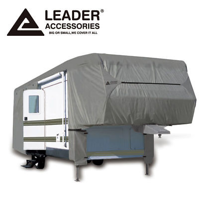 Leader Accessories 5th Wheel RV Cover Fits 33'-37' W Zipper Outdoor Protect