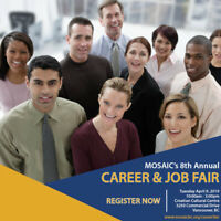 MOSAIC's 8th Career & Job Fair