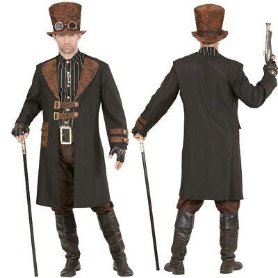 Herren Kostüm  - Viktorianisch Fantasy Gothic Karneval NEU (Viktorianische Kostüme)