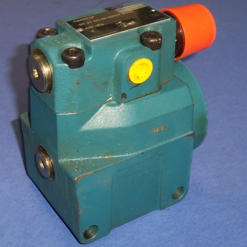 REXROTH HYDRAULIC VALVE, DR20G5-52/200YMSO160 *NEW*