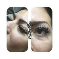 $58 for lash extensions - limited time offer!