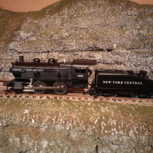 Lionel O Scale New York Central 0-4-0 Steam Engine 1665