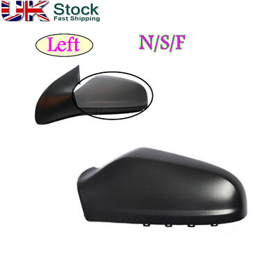 Left Passenger Side Wing Door Mirror Cover For VAUXHALL ASTRA H MK5 2004 2009