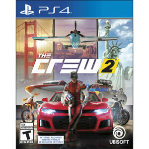 BRAND NEW sealed THE CREW 2 for PS4 on sale in store!
