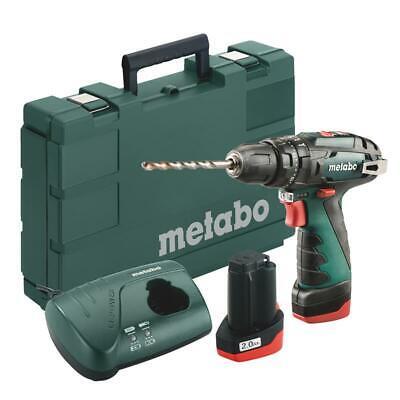 Metabo Akku-Bohrschrauber 10,8V PowerMaxx SB Basic Akku-Schlagbohrschrauber 34Nm