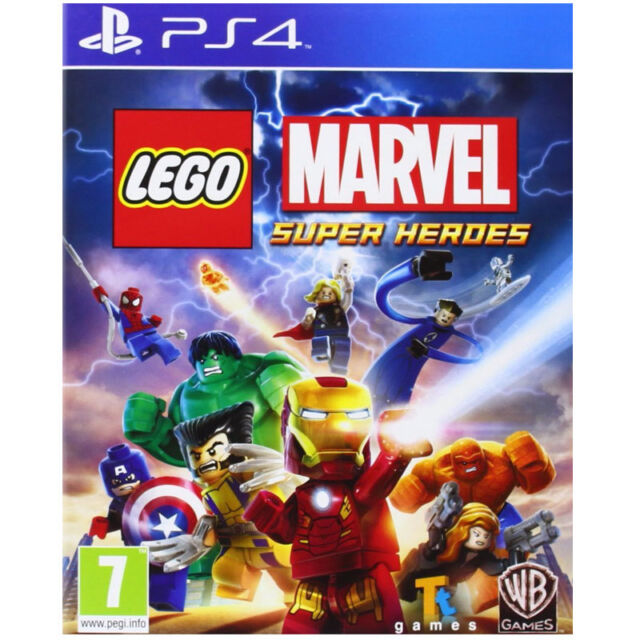 LEGO Marvel Super Heroes Video Game For Sony PS4 Games Console Sealed New