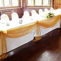 Organza Tulle - gold