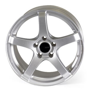 Roues mags neufs,    17''x 9''  ENKEI Argent
