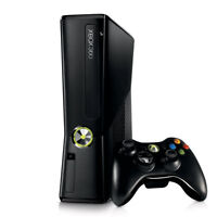 Xbox 360 Slim 250GB with 4 games