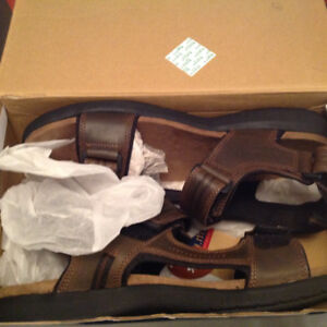 Men's BUM Equipment Leather Sandals Brand New in Box Size 13