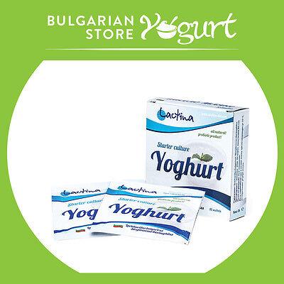 Bulgarian yoghurt - Starter culture, natural probiotic-home ...