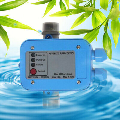 Electronic Switch Control Unit Automatic Water Pump Pressure Controller Us Stock