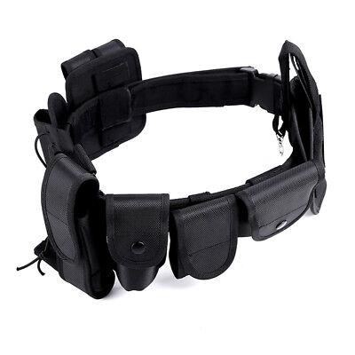 Police Security Guard Modular Enforcement Equipment Duty Belt Tactical Holster
