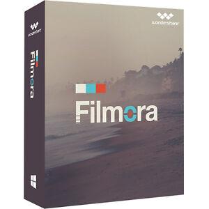 Wondershare Filmora Video Editor MAC deutsche Vollversion ESD Download