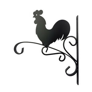 Brand new 12 In. Metal Rooster Plant Bracket