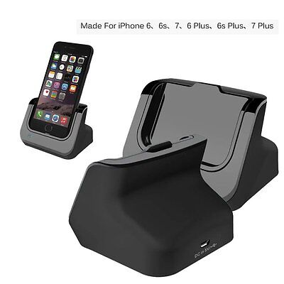 Sync Data USB Charger Dock Stand Station Cradle For iPhone 7 7 Plus 6 6S Plus Sync Cradle Dock Station
