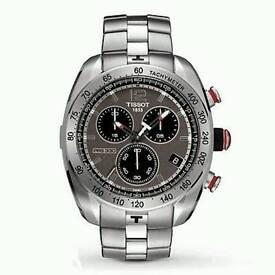 ...::: TISSOT PRS-330 Tony Parker Limited Edition Black/Steel :::...