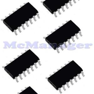 10x-SN74HC04-C-MOS-IC-6xINVERTER-GATE-SO-14