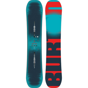 Burton Process Flying-v 162 cm wide avec fix Burton Cartel large