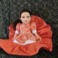 """18"""" Doll Clothes ~Journey Girl~ American girl doll, Hand crafted"""