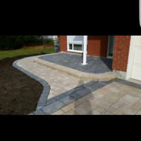 Interlock and landscaping sod & fences book now