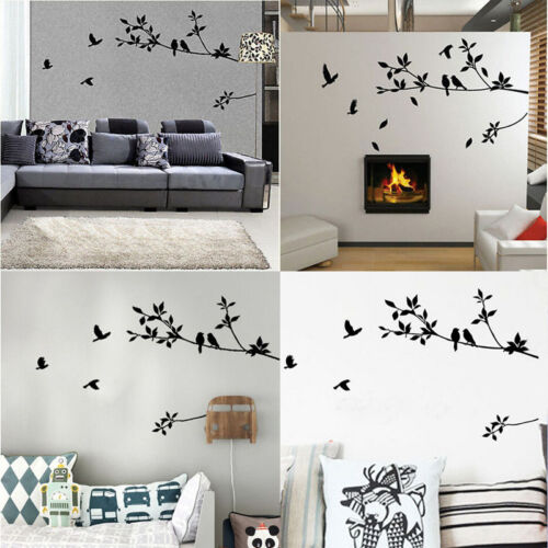 Home Decor Art Wall Sticker Removable Mural Decal Vinyl Tree Living