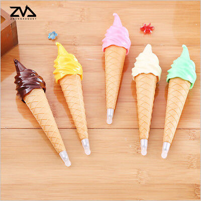 ICE-CREAM Ballpoint Pen Writing School Supplies Office Stationary Kids Gift Cute - Ice Cream Supplies
