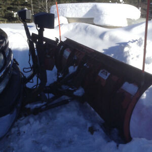 2002 Chev Silv with western pro plow