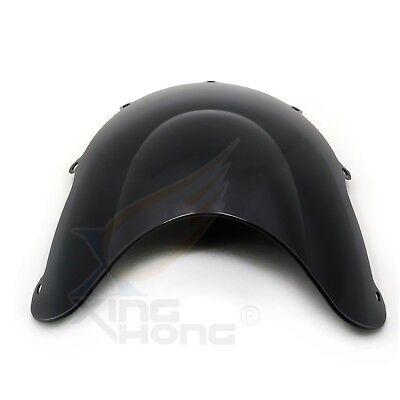 PMMA Double Bubble Windscreen Windshield For SUZUKI GSXR600 GSXR750 GSX-R 96-99