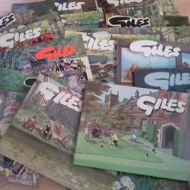 Giles cartoon books 20 £10 the lot