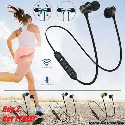 Wireless Bluetooth Headphones Sports PREMIUM Earphones for Samsung iPhone UK