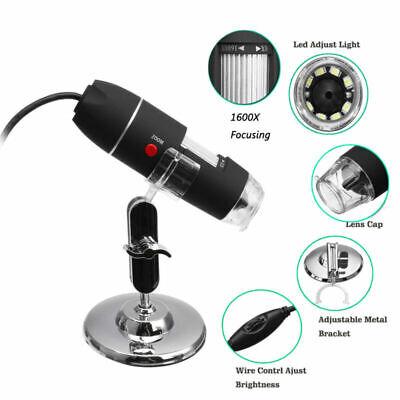 1600x Zoom 3 In1 Hd 1080p Usb Microscope Digital Magnifier Endoscope Camera