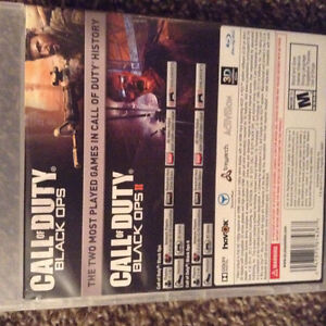 Call of duty black ops 1 and black ops 2 combo pack London Ontario image 2