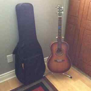 Norman acoustic guitar Canadian made with case